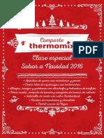 Thermomix - Clase Especial Navidad 2016