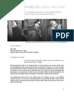 Ficha Obra Como Explicar El Arte Contemporaneo a Una Liebre