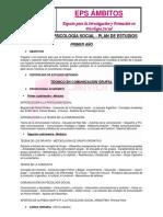 Plan de Estudios Carrera de PS