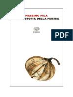 Get Il Libro Breve Storia Della Musica Di Massimo Mila