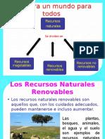 Clase 4° Recursos Naturales