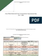 Black Diamond 2017 Transportation Plan