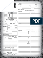 Earthdawn Character Sheet 3e