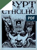 Crypt of Cthulhu 68 1989.Cryptic CosmicJukebox