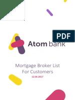 Atom Mortgage Broker List