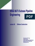 20 - Offshore Construction - Part 1