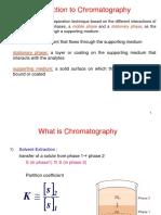 Chromatography 1