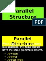 Parallel Structure (Seniors)