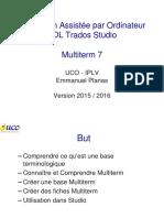 Cours UCO TAO SDL Studio M2 5 Multiterm 20151103 M1