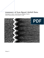 Low Speed Airfoil Data V3
