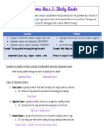 Grammar Quiz 2 Study Guide
