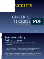1. Tiroiditis - Cancer de Tiroides Clase