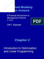 SpreadsheetModeling 5e Ppt Chap02