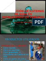 Curso Desinfeccion Agua 2015