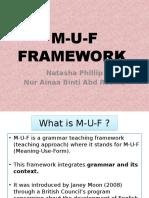 MUF Framework New Tana
