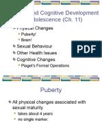 Ch 11 - Adolescence P & C