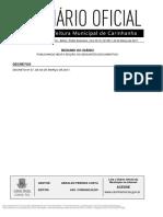 Diario Oficial de Carinhanha Ed 891