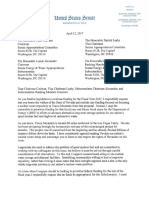 Heller Letter to Appropriations Re Yucca