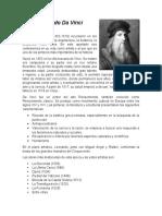 Leonardo Da Vinci Reporte
