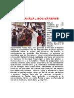 El Carnaval Bolivarence