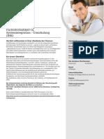Fachinformatiker/-in, Systemintegration - Umschulung (IHK)