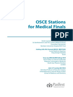 Osce Stations for Medical Final 1