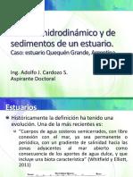 Modelo hidrodinámico y de sedimentos de un estuario