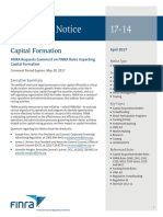 Regulatory Notice 17 14 FINRA