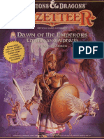 D&D Gazetteer Dawn of the Emperors - Thyatis and Alphatia