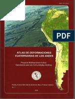 Atlas de Deformación Cuaternaria de Los Andes