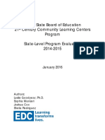 Illinois State board of Education 21st Century Community learning Centers Program