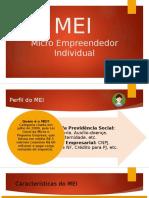 MEI - Micro Empreendedor Individual