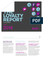 Bond Loyalty Report US 20141