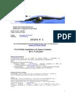 Carta Presentacion de FRANQUICIA UNACO