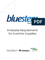 Bluestem Enterprise Requirements