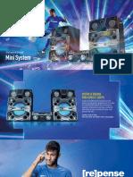 Panasonic Catalogo Mini System 219x115mm SET-16