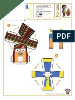 Papertoy Puerto Papel - Matilde y el Coco Mágico