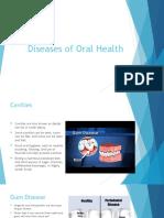 diseases of oral health