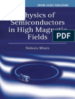 Miura - Physics of Semiconductors in High Magnetic Fields