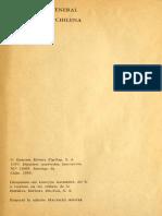 Antología General de La Poesía Chilena, Raúl Silva Castro, 1959.