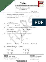 5. HCU-M.sc. Question Paper 2011
