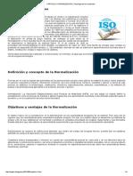 CAPITULO II_ NORMALIZACIÓN _ Tecnología de Los Materiales