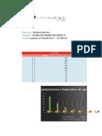 Simulacion de Proceso de Pasteurizacion a Temperatura de Pasterización Variable y Flujo Másico Constante