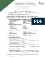 Memoria Descriptiva Ampliacion de Plazo N°03