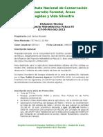 Memorandun 002-2012 Jose Santos Moradel