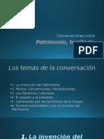 S/a. Patrimonio, territorio, turismo (PPT)