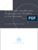 Whil How Driven Healthcare Professionals Perform
