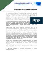 Fundamenta c i on Financier A