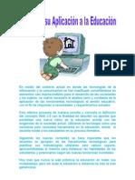 La Web 2.0 y Su Aplicacion a La Educacion