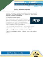 Evidencia 13 Segmentacion de Mercados